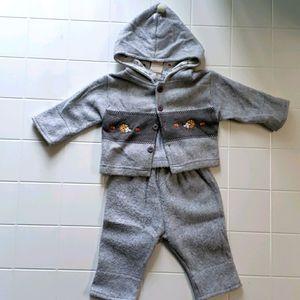 Infant jacket & pant set